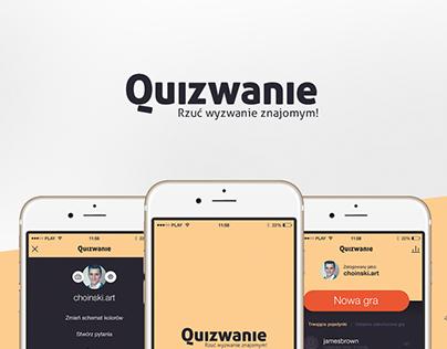 Quizwanie App Redesign