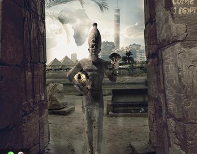 اهلا بيكم بمصر