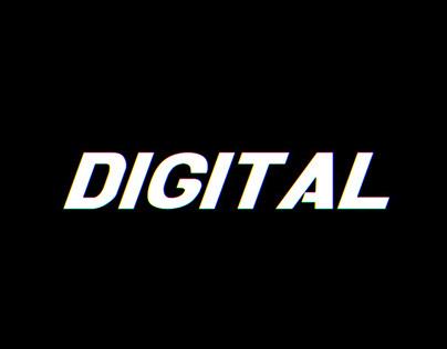 Digital Glith Logo Intro
