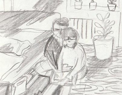 Sketches : Germany Mannheim