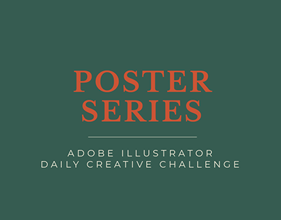 Poster Series (AI Daily Creative Challenge)