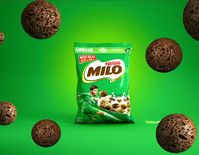 ANIMATION 3D & 2D MILO CEREAL