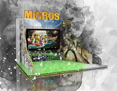 Migros Oyun Standı