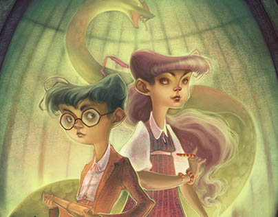 """""""Lemony Snicket - Book Cover"""""""
