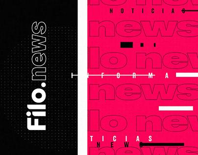 Filo News | Brand Identity