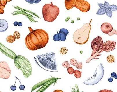 Mandìlli - Seasonal food cookbooks