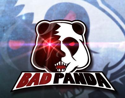 """Free Download """"BAD PANDA"""" Gaming Logo for ESports Masco"""
