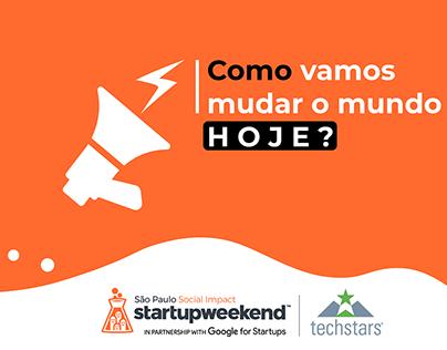 Identidade Visual do Startup Weekend Social Impact