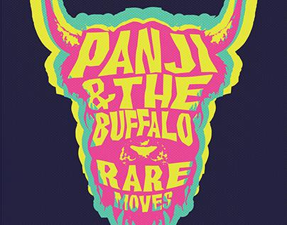 CD Cover Design for Panji & The Buffalo