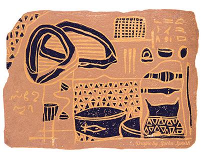 Prajne ~ A Tribute to Ancient Artefacts (Thesis)