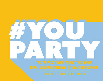 Posterdesign #youparty