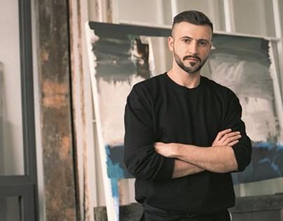 Adrian Ghenie for L'Uomo Vogue