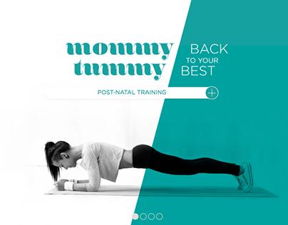 Mommy Tummy - Brand Identity & Web Design