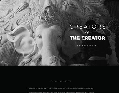 Creators of the creator - Ganesha idol making process
