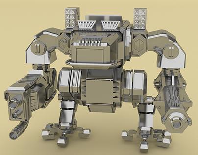 3D - Mech Robot