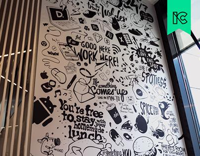 Deloitte Digital PT Mural