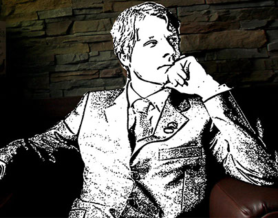 """Sketch Man"" - Digital Art"