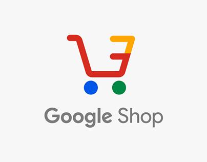 Google Shop : E-commerce innovation concept