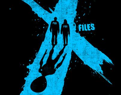 "The ""X Files"" t shirt design challenge"