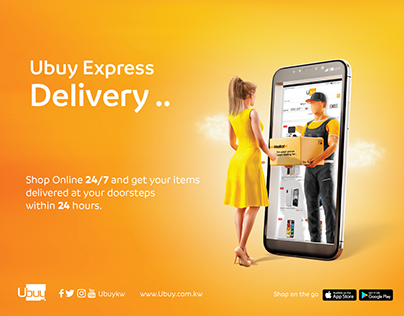 Ubuy Express Delivery Campaign