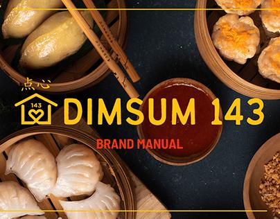 Brand Manual: Dimsum 143 PH
