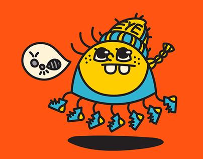 Bodymon_body character design(2015.7~8)