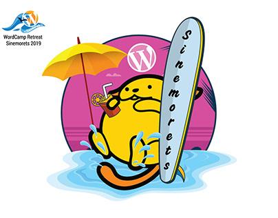 Second Wapuu of WordCamp Retreat Sinemorets 2019