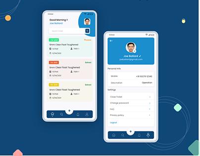 Customer Care App Concept