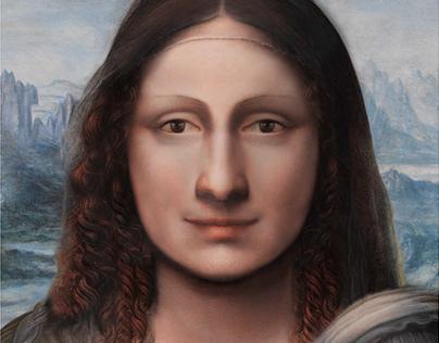 El rostro de la Mona Lisa / Gioconda
