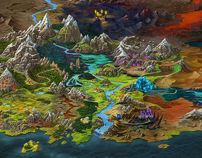 world map for game,,Shadow Quest,,