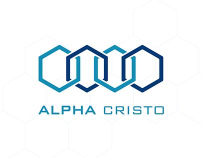 ALPHA CRISTO LOGO & PACKAGING