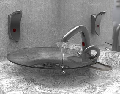 SOAP DISPENSER & FAUCET