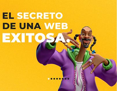 El secreto de una Web EXITOSA.