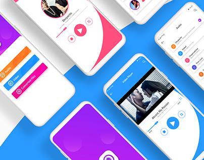 Music Player App UI/UX Design