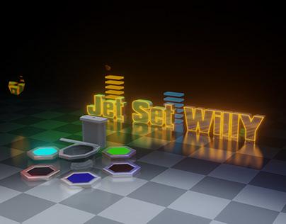 Jet Set Willy - from Atari 8-bit game