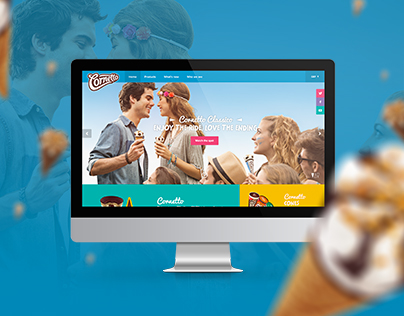 CORNETTO WORLDWIDE WEBSITE | Cornetto