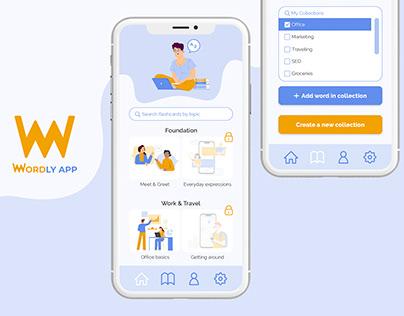 Language learning app - Wordly