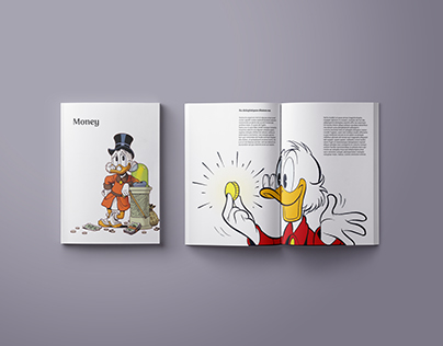 Money magazin with Uncle Scrooge
