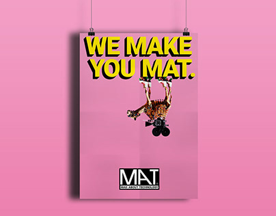 Mat About Technology. Corporate Design.