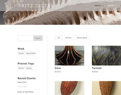 Fritz Dietel - Portfolio Site