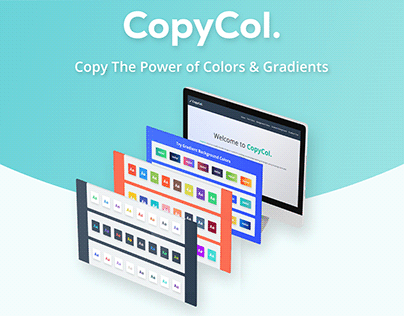 CopyCol - Flat and Gradient Color Code for Website