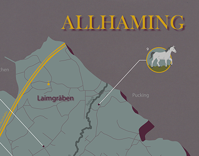 Map Design - Allhaming -