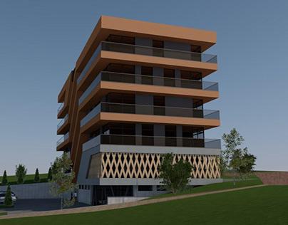 Modern flathouse project