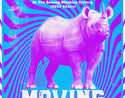 Moving Bodies poster | Sewing Machine Factory