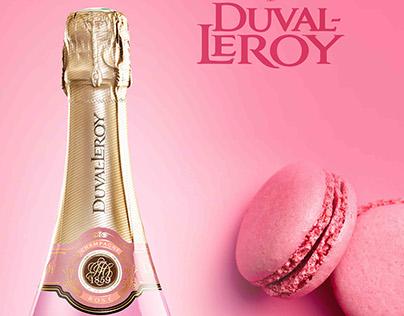 Advertising Duval-Leroy - Lady Rose