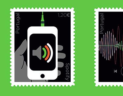 Selos Spotify | Stamp Spotify