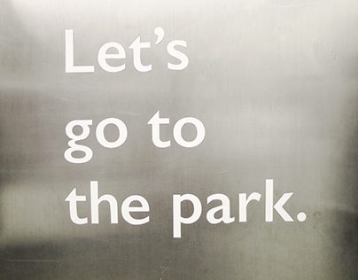 [2014 Fall] Let's go to the park.