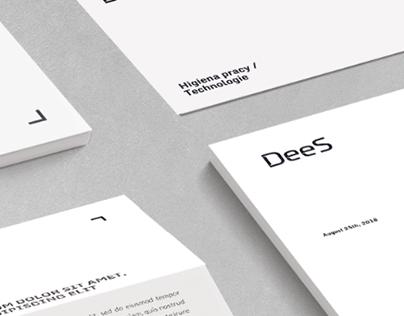 DeeS Visual Identity