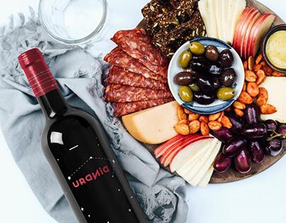 Urania - Wine design student project