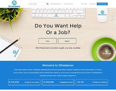 Freelancing Website Design